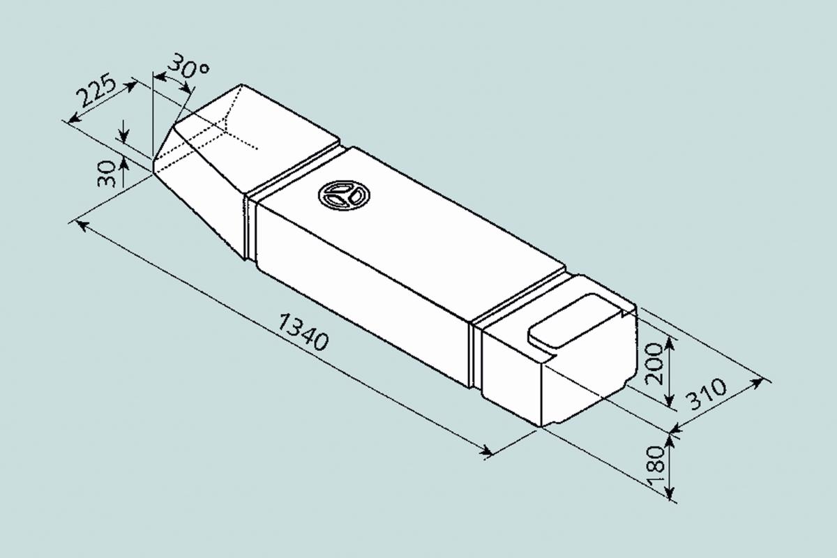 Fusion Wassertank 60 l