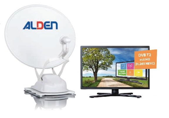 "ALDEN Onelight 60 PL EVO A.I.O. mit 24"" TV ultrawhite"