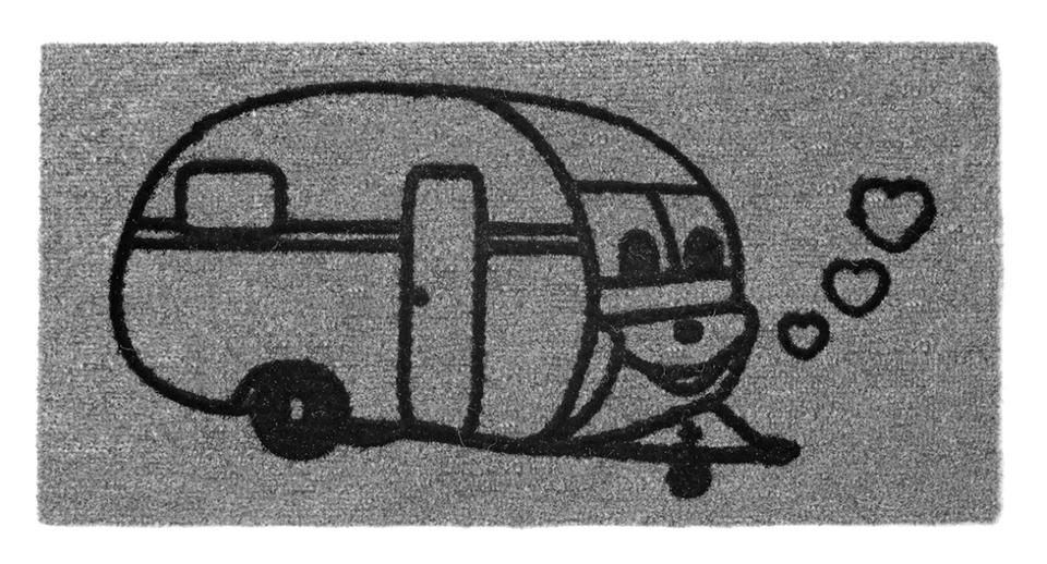 Teppich DERBY FLOCK 25x50 cm Caravan