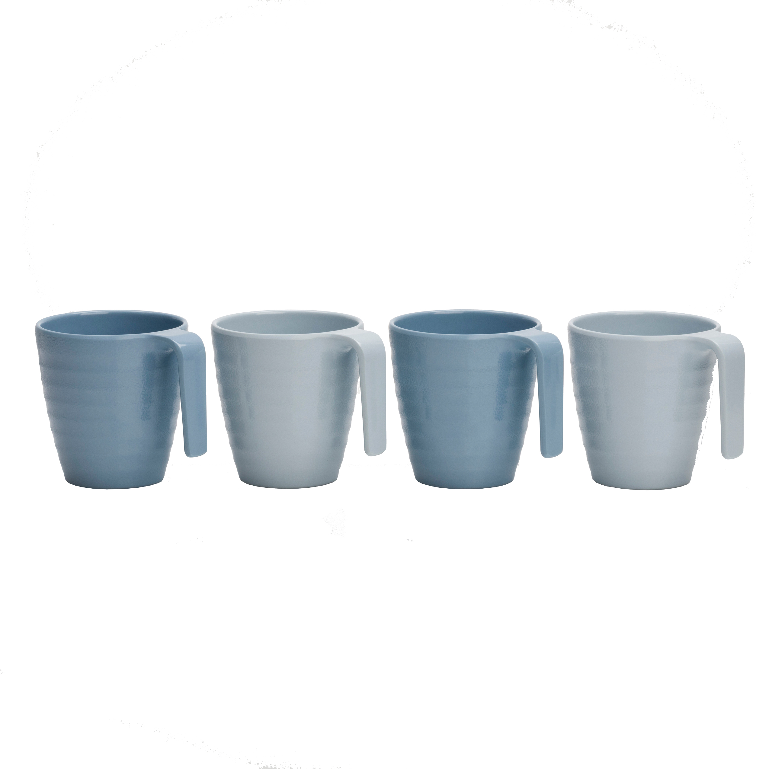 Flamefield Henkelbecher-Set Premium SHADES OF BLUE 4 tlg.