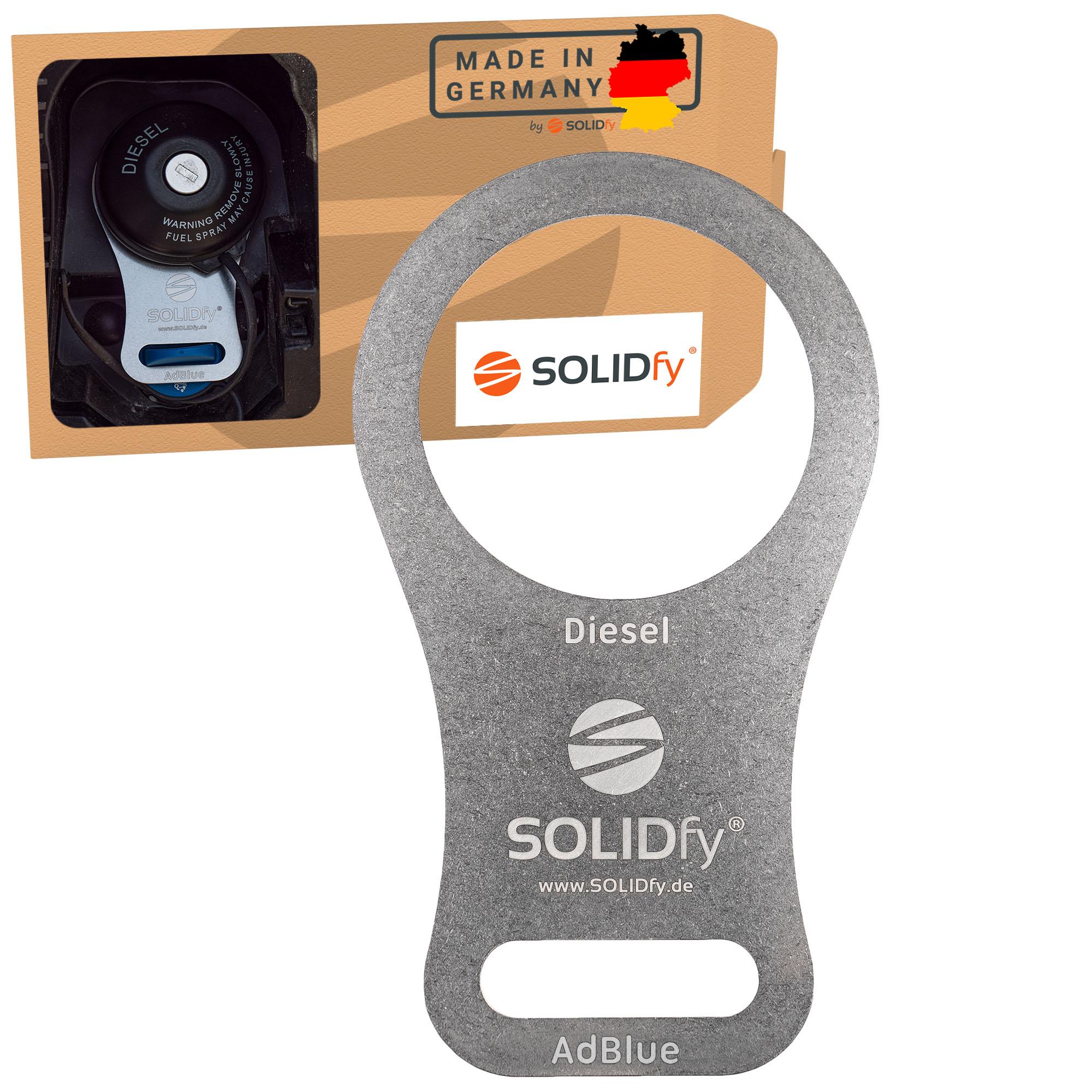 SOLIDfy AdBlue Verschluß Sicherung Ducato