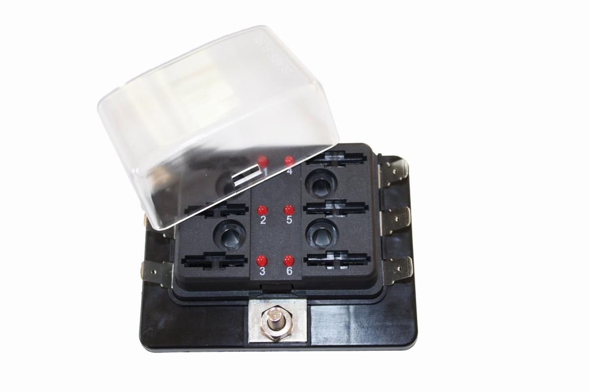 Sicherungshalter 6-FS mit LED