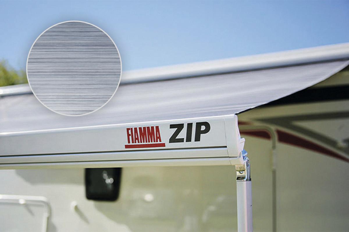 Fiamma ZIP S 350 Medium Markise mit Vorzelt, Royal Blue