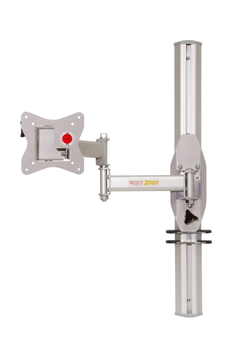 Project 2000 TFT-Halter mit Höhenverstellung C silber