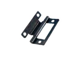 Möbelscharnier Stahl vermessingt 50 mm