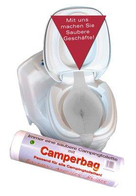 WC-Camperbag Rolle mit 40 Stück