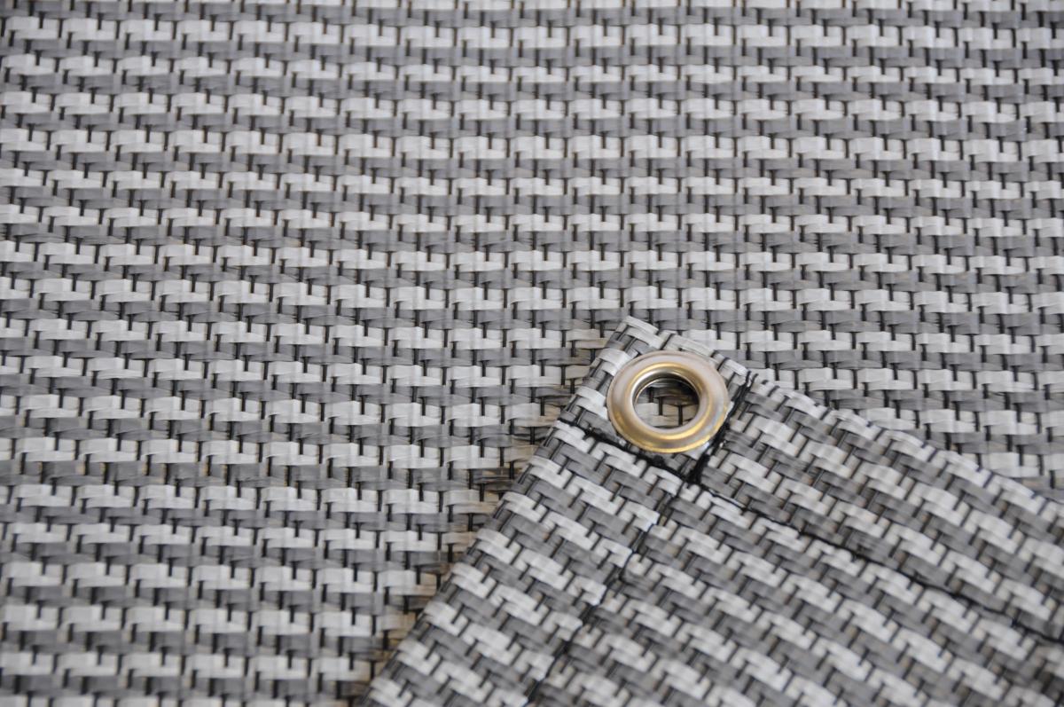 Zeltteppich Premium grau