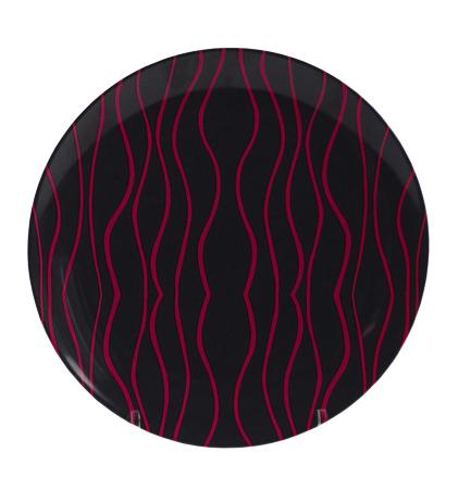 Gimex Essteller grau-blackberry 25,5 cm
