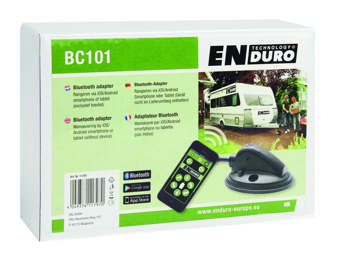 ENDURO App mit Bluetooth Adapter BT101