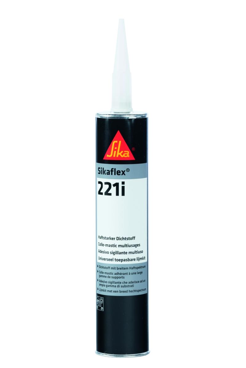 Sikaflex 221i schwarz, 300 ml Kartusche