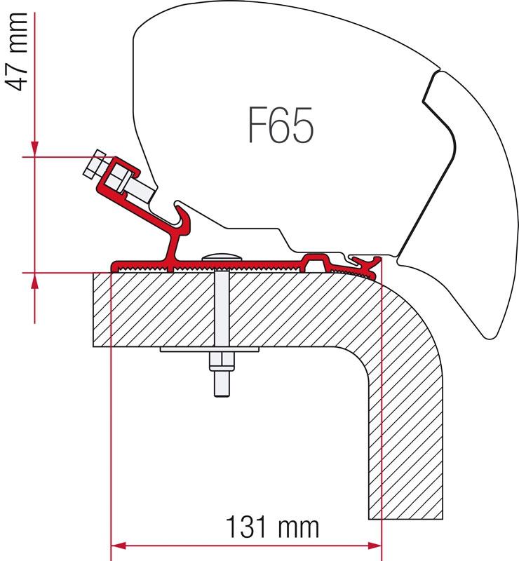 Fiamma Adapter F65 Hymer 450