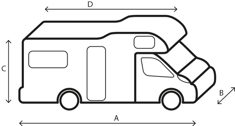 Brunner Schutzhülle Reisemobil 700