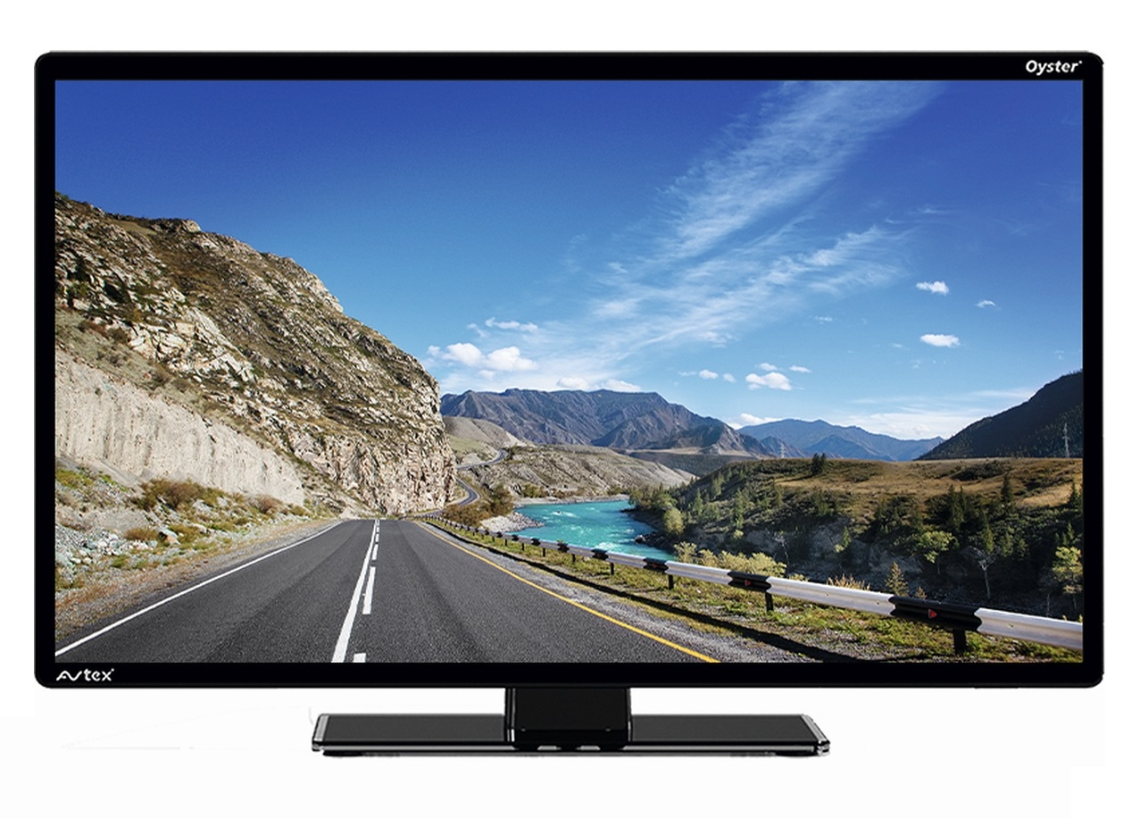 "Oyster 85 Premium Twin mit Basic TV 19,5"""