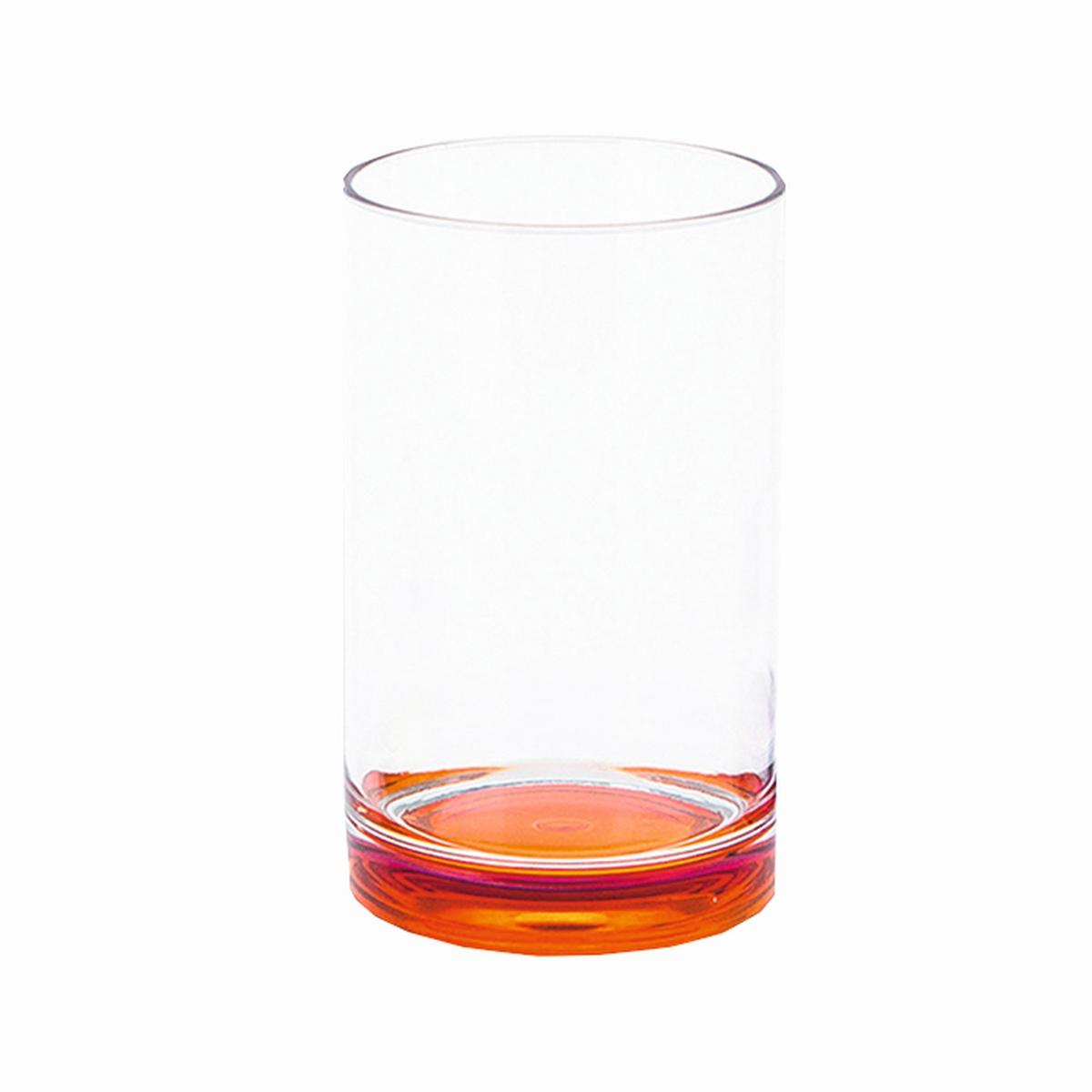 Gimex Trinkglas Boden orange