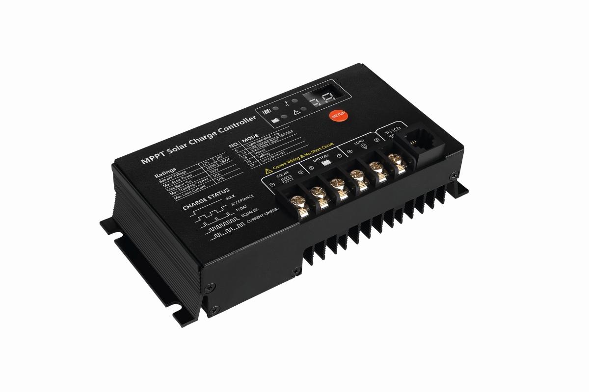 Vechline Solarregler 10 A MPPT
