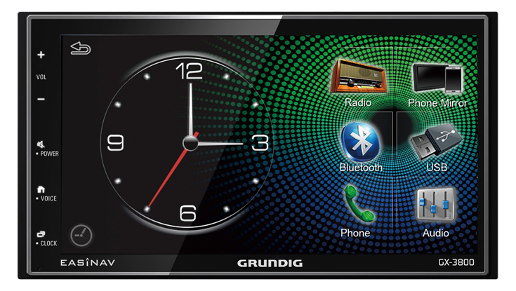 AL-CAR GRUNDIG EasiNav GX3800DAB