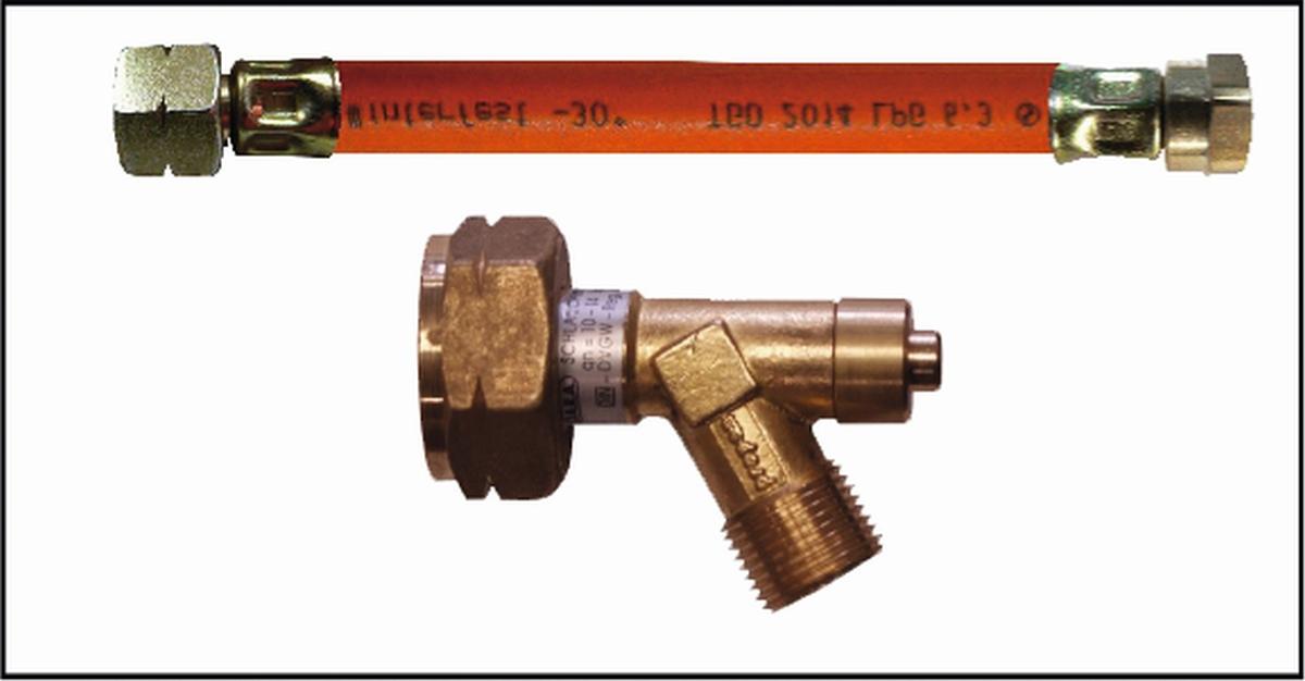 HD-Verbindungsschlauch mit Schlauchbruchsicherung