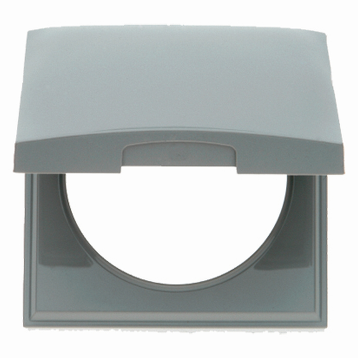 Berker Rahmen mit Deckel INTEGRO grau