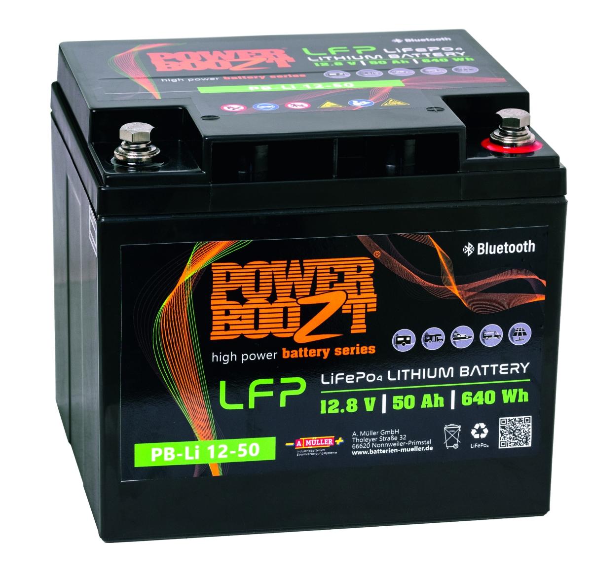 Lithium Batterie PB-Li 12-50