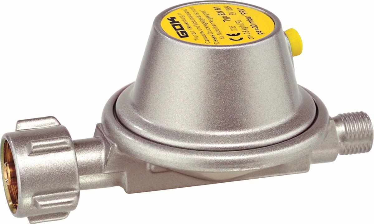 GOK Niederdruckregler 0,8 kg/h 30 mbar EN61