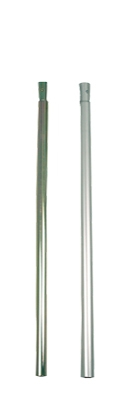 Gestänge-Zwischenstück Alu 80 cm, 25 mm