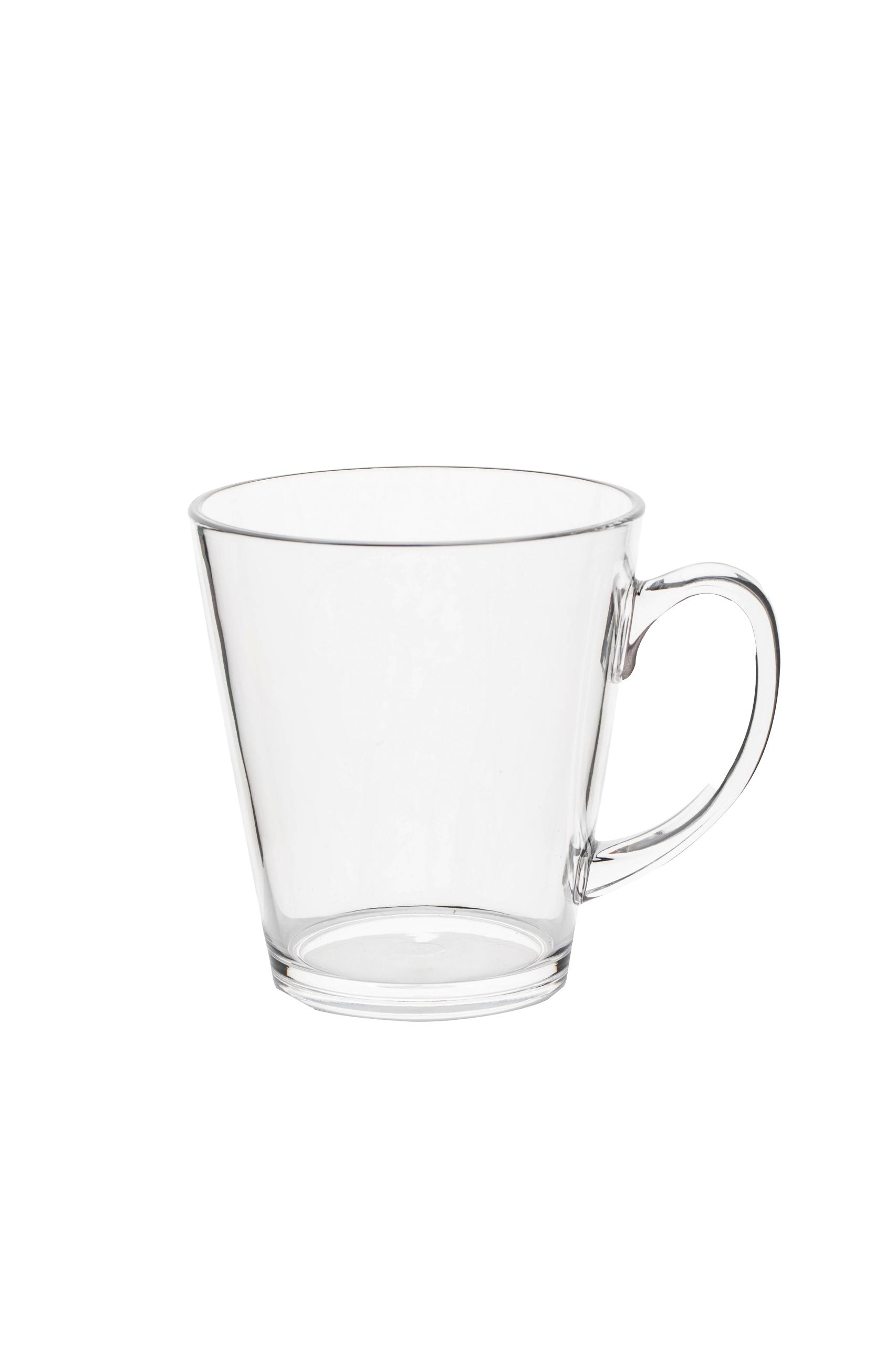 Gimex Teeglas, klar, 2 tlg. Set