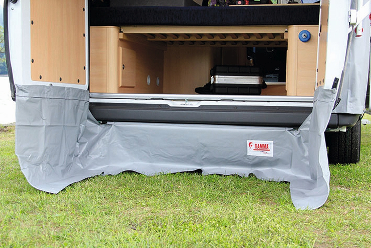 Fiamma Rear Skirting windblende für Rear Door Cover für VW T5