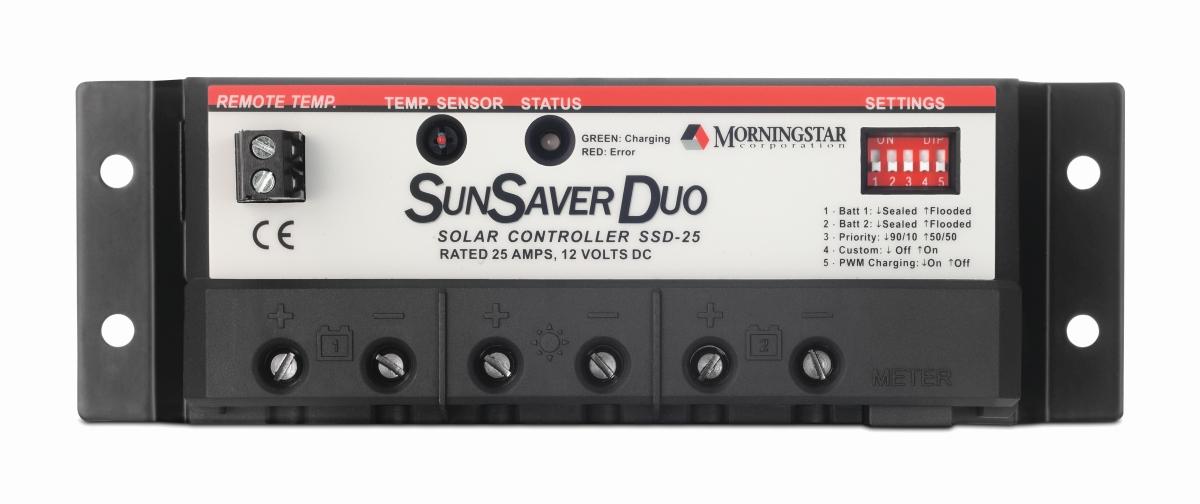 SOLARA Laderegler SunSaver Duo RM