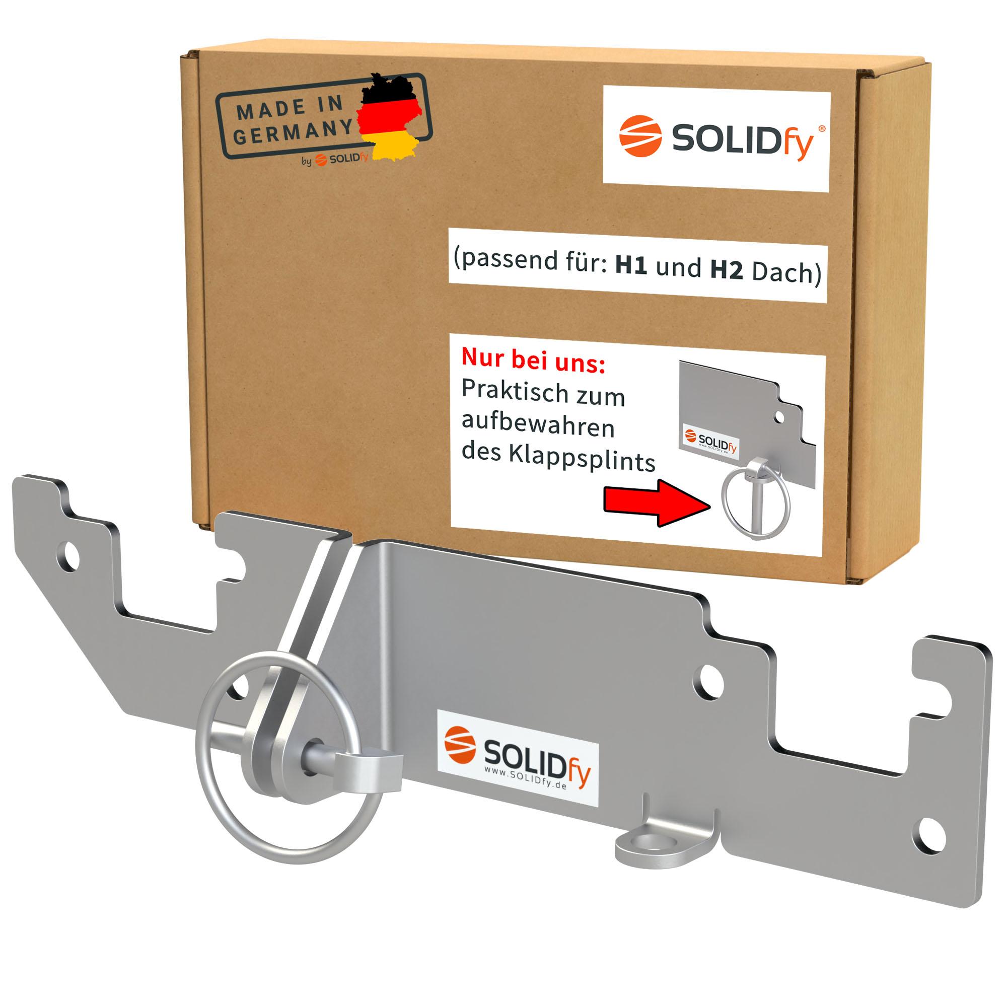 SOLIDfy Einbruchschutz Hecktür Ducato H1/H2 ab 2006