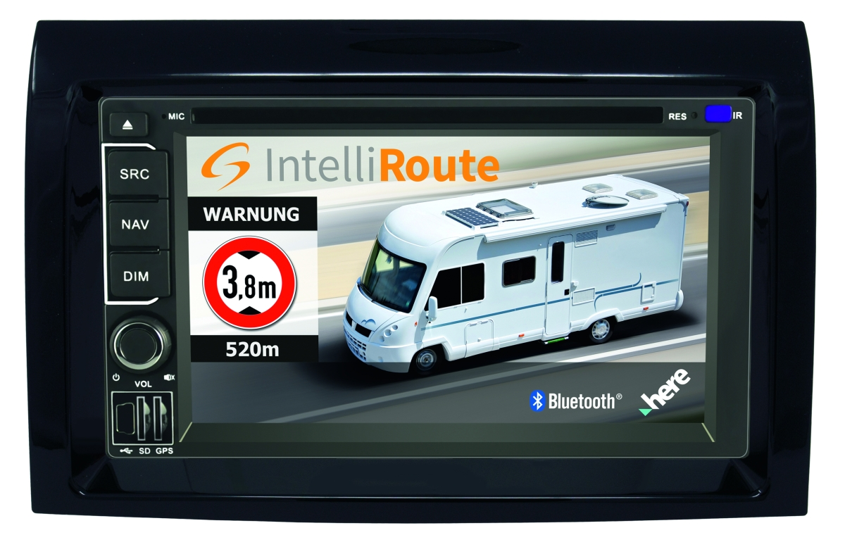 Car Guard Navigation IntelliRoute CA9100 Ducato