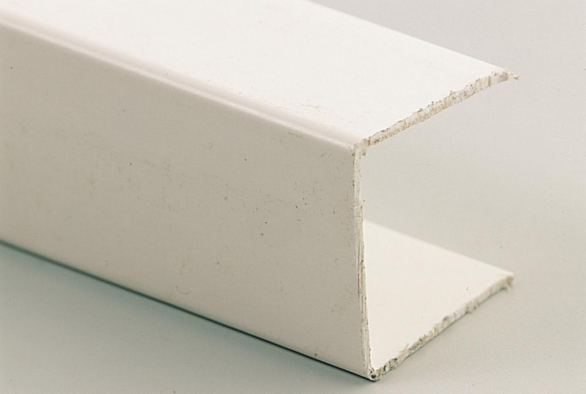 Möbel-Kunststoffprofil 20 mm Länge 275 cm