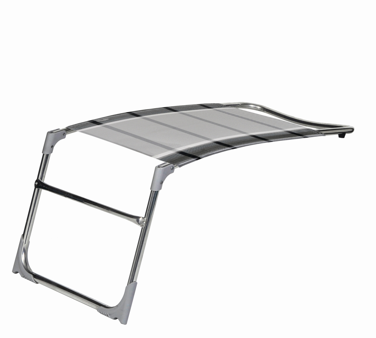 Dukdalf Fußteil SAMPLER grau/weiß 0649