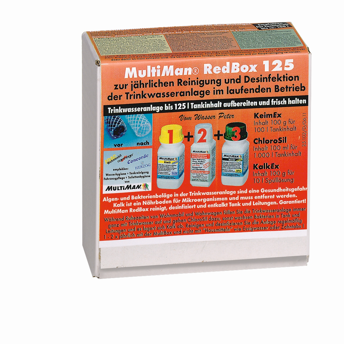 MultiMan RedBox 125