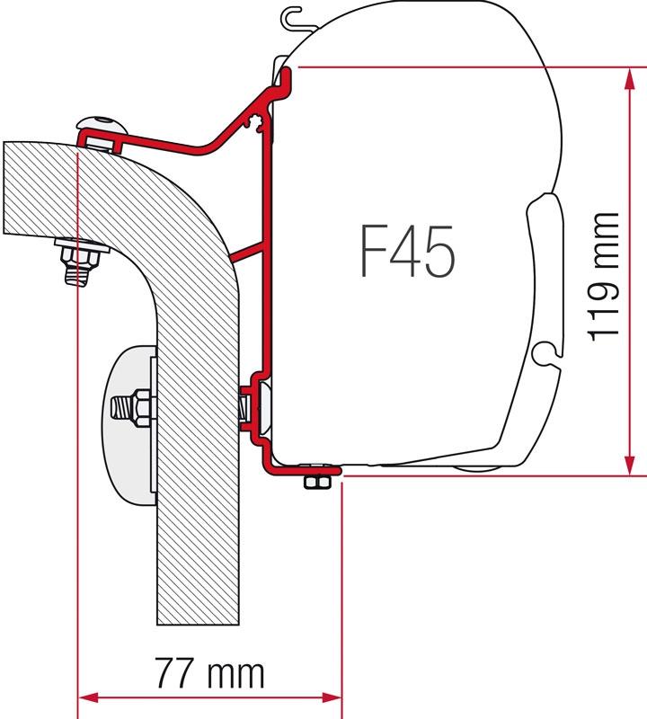 Fiamma Hymer Van/B2 Adapter
