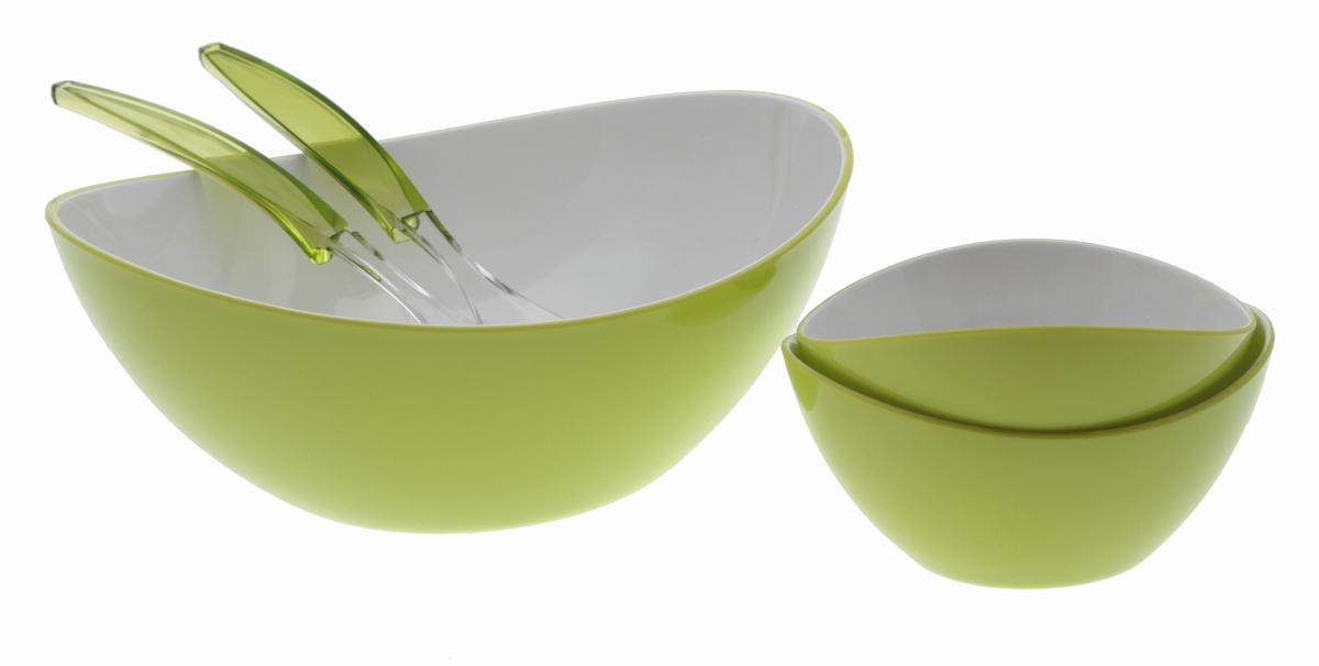 Gimex Salatbesteck lime