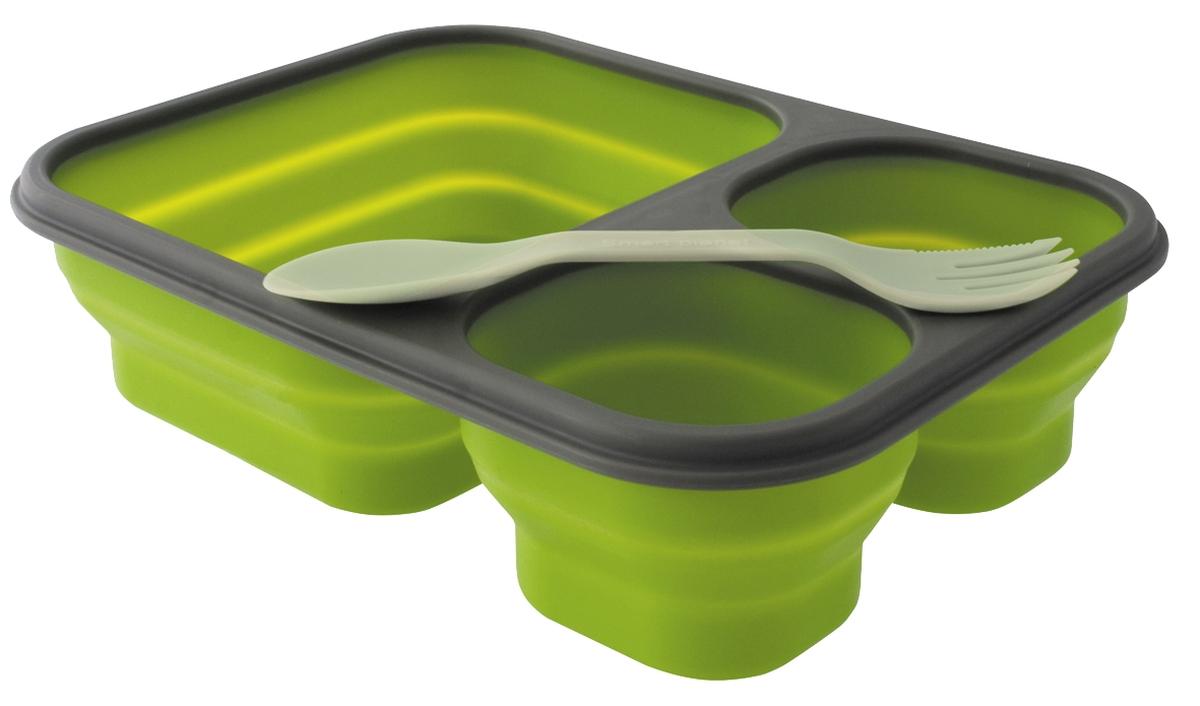 EuroTrail Faltbare Lunchbox L grün