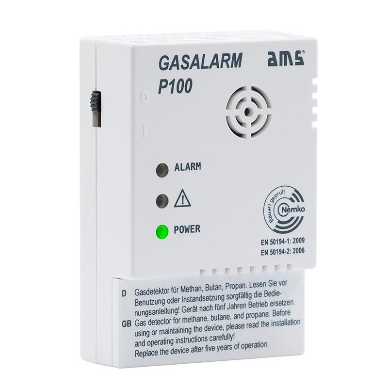 AMS Gasalarm P100 mit Schaltausgang