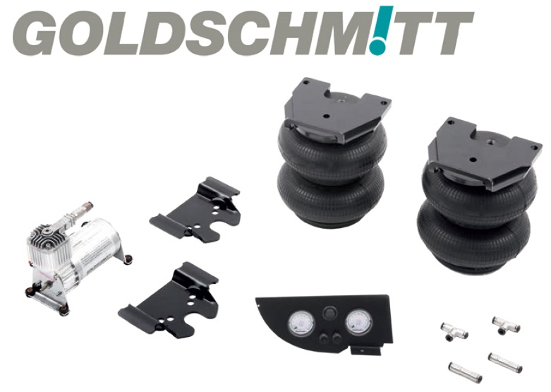 Goldschmitt Luftfederanlage X290 8 Zoll, 2-Kreis, SoftTouch