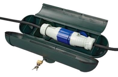 Kabelsafe für CEE-Stecker
