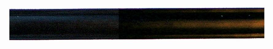 Leistenfüller schmal schwarz 10 m