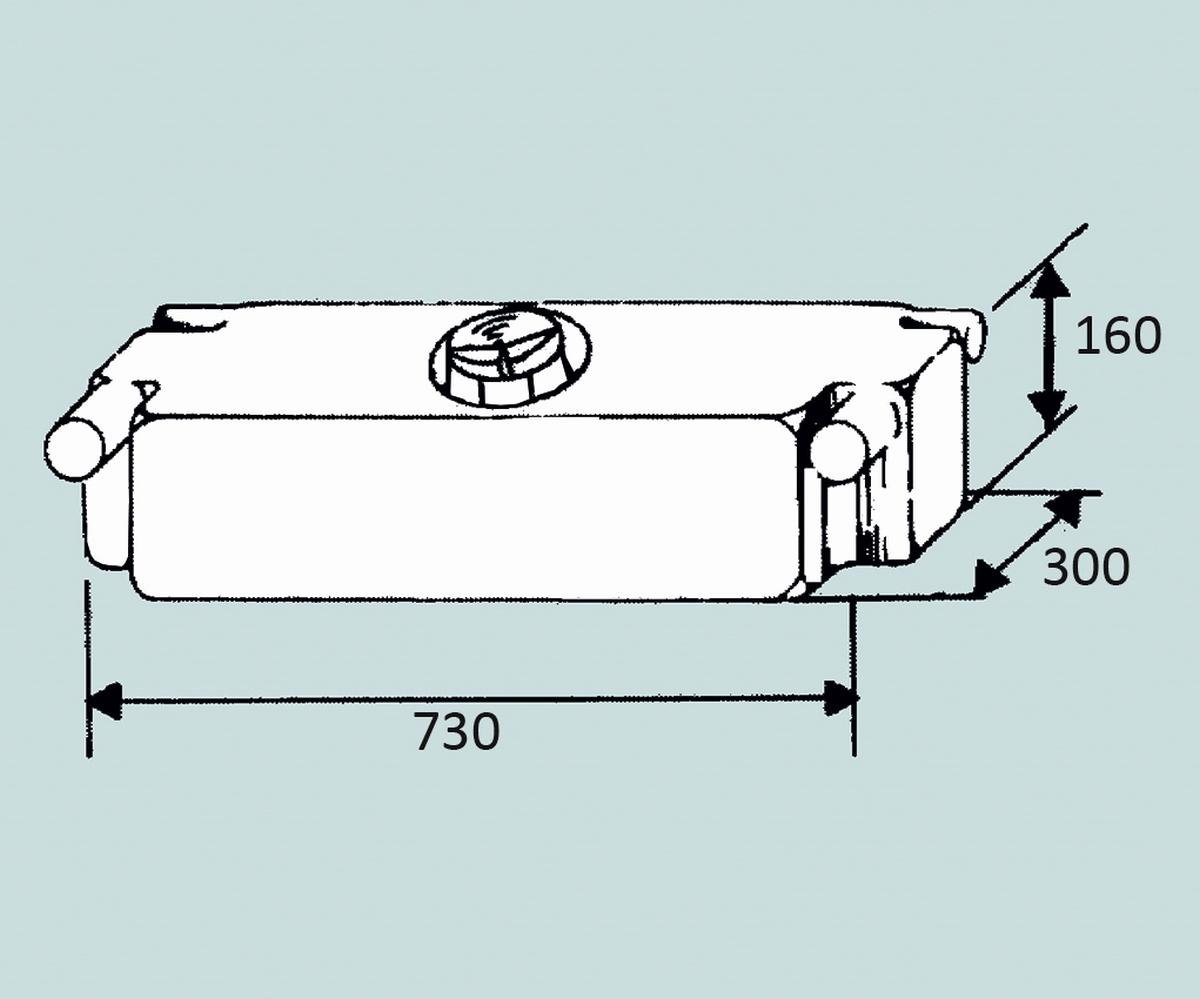 Fusion Wassertank 32 l