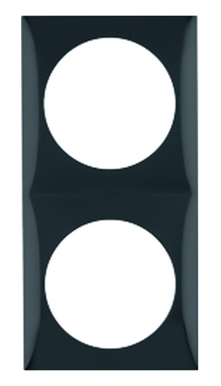Berker Rahmen 2-fach INTEGRO schwarz
