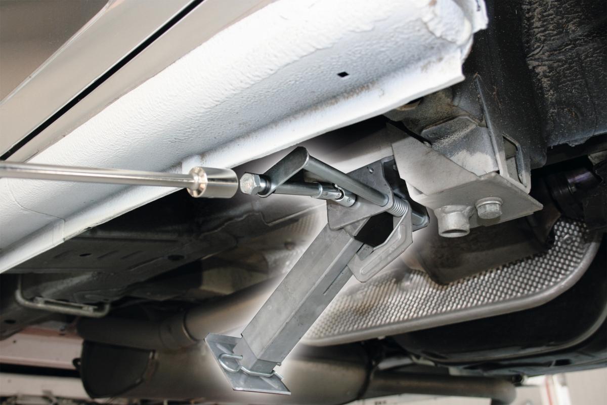 MOCA Hubmatic Stützen Vorderachse Ford ab 2003