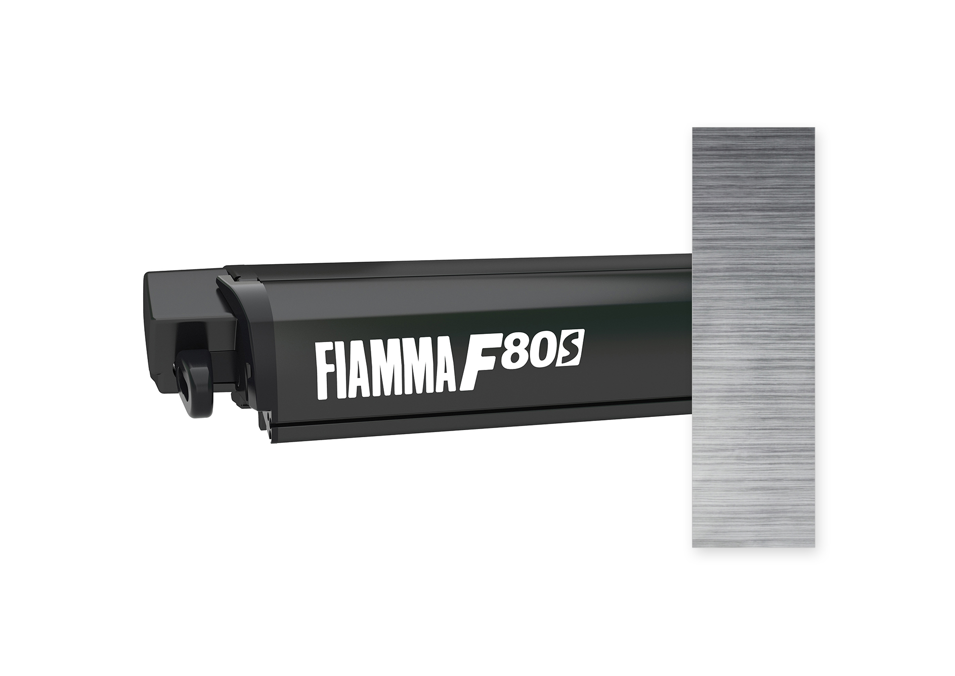 Fiamma F80S Markise deep black 400 cm Royal Grey