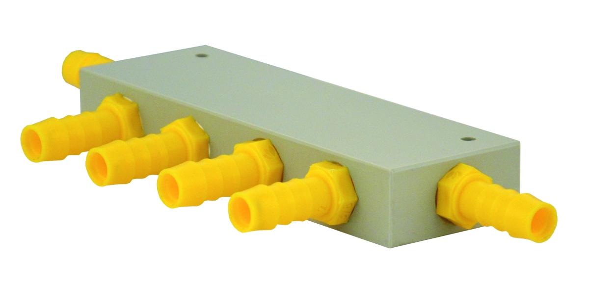 Lilie Wasserverteilerblock 5 Abgänge