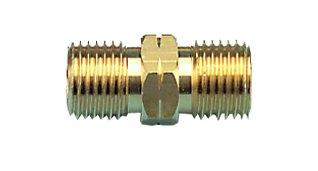 Schlauchverbinder 2 x 1/4 Zoll