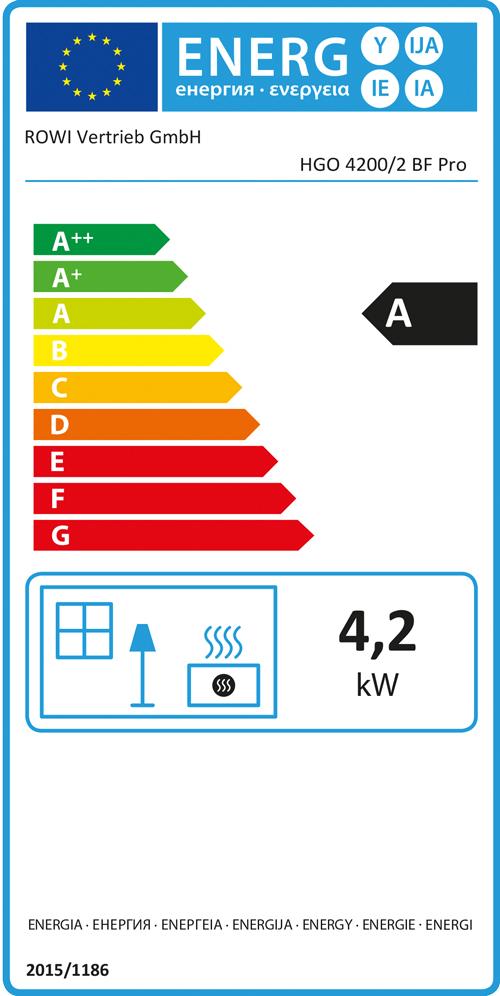 Rowi Gas-Heizgerät BLUE FLAME 4200