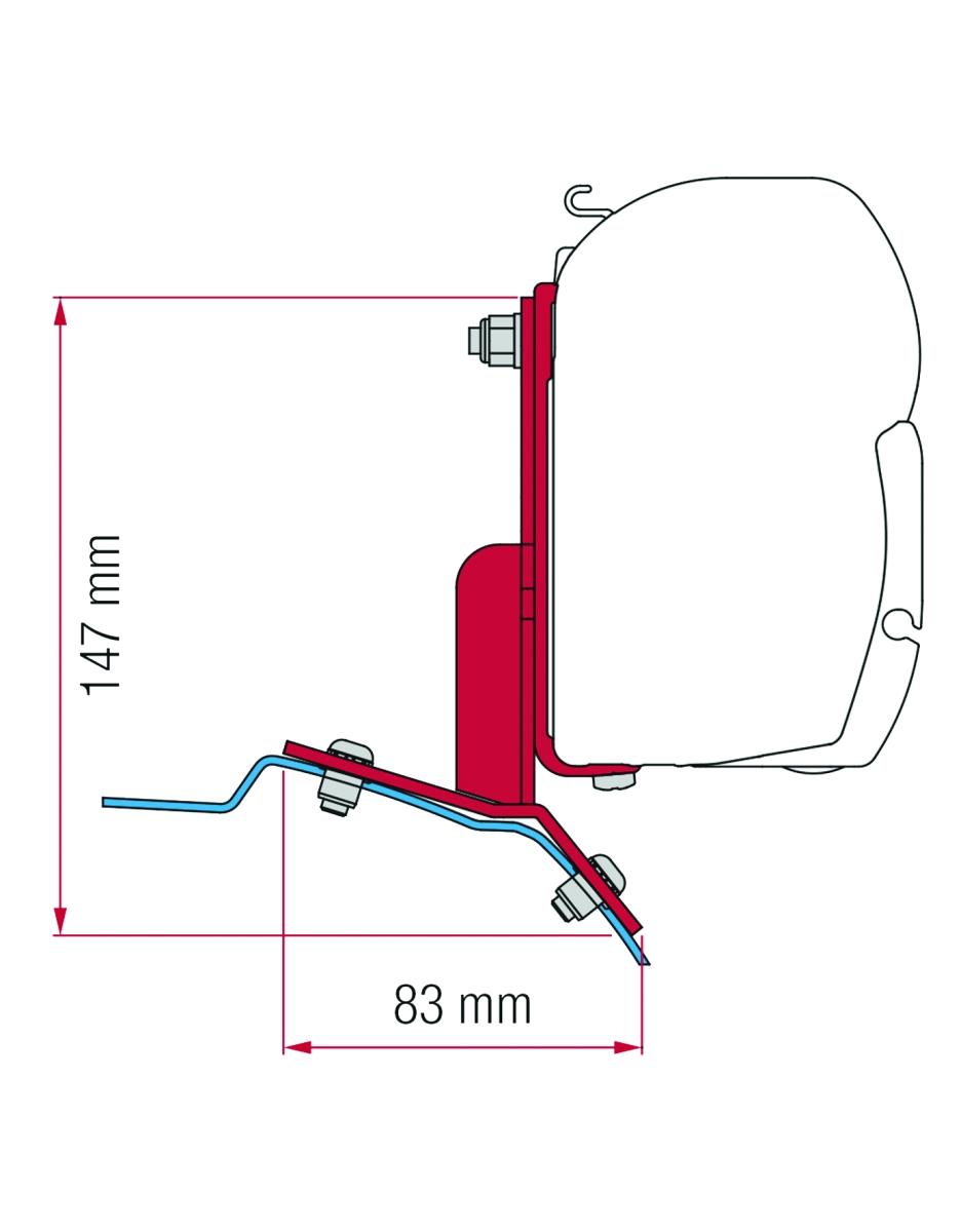 Fiamma Ford Custom Adapter Kit