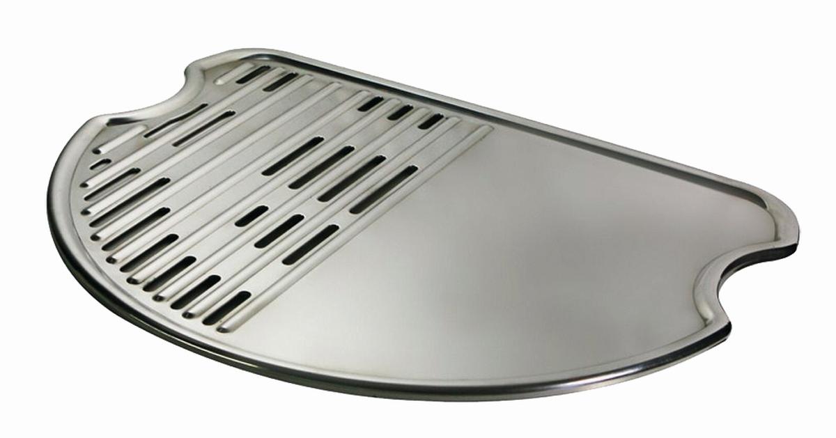 Tgo Grillplatte Plancha für O-Grill
