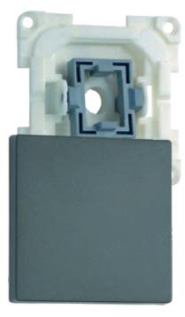 Flächenwippe mit Ausschalter 1-polig